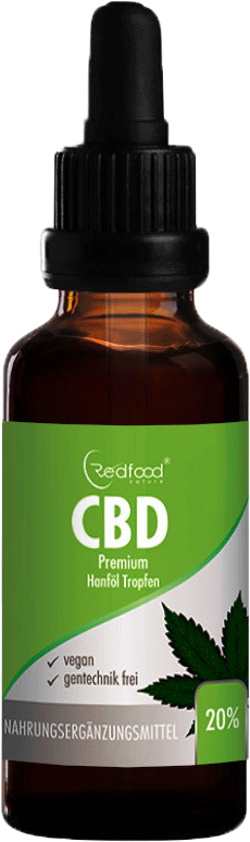 Redfood CBD Öl 20% 10ml