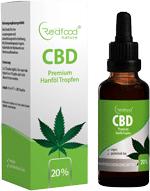 Redfood24 20% CBD Öl Test