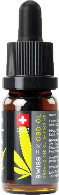 Swiss FX CBD Öl 10% 10 ml