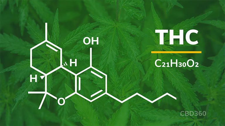 THC Strukturformel